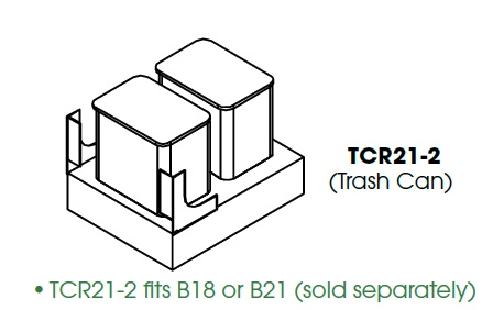 KW-TCR21-2 * TCR21-2 FITS B18 OR B21, 29 QUART