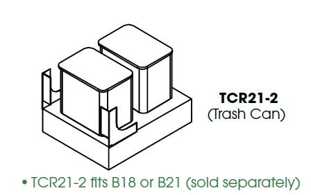 KW-TCR21-2 * TCR21-2 FITS B18 OR B21, 29 QUART