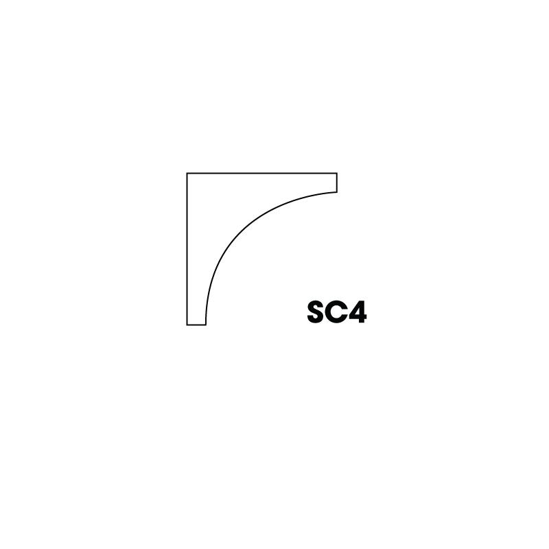 "KM-SC4 (ICM) * Inside corner molding 3/4"" x 3/4"" x 96"""