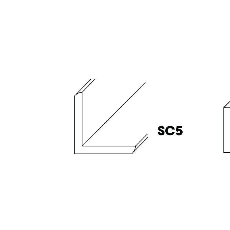 "KC-SC5 (OCM) * Outside corner molding 3/4"" x 96"""