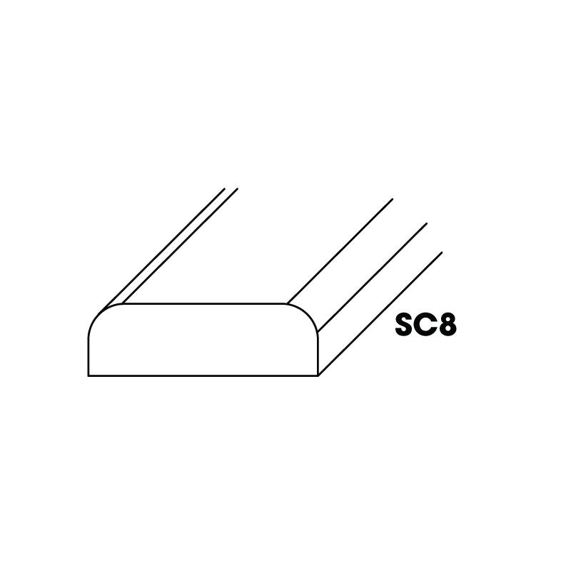 "KW-SC8 (BM) * BATTEN MOLDING 1/4""X3/4""X96"""