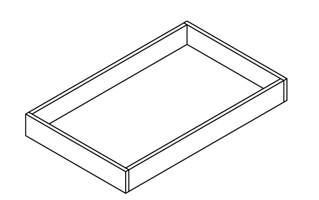 AN-30RT-DR * 30″ ROLL OUT TRAY